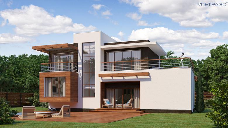 Плаский дах: вибір на користь сучасної архітектури