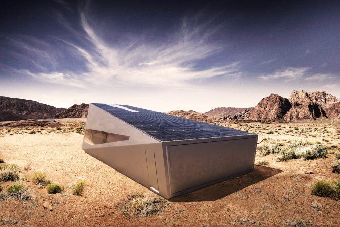 Tesla Cybertruck  Ілона Маска спричинила ревлюцію навіть в архітектурі і отримала власний гараж: Cybunker