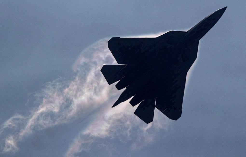 Новітній російський винищувач Су-57 розбився в тайзі