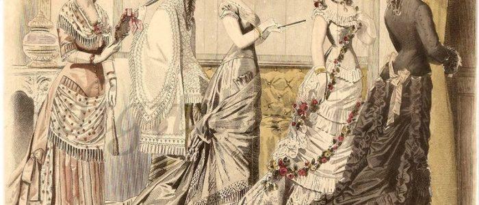 """Модний журнал 1874 року: """"Дами на балі шкодять одна одній"""""""